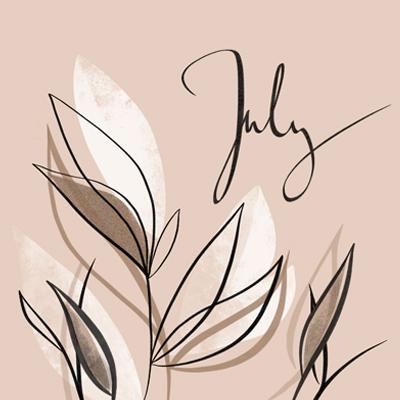 Illustration für den Monat Juli